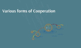 Various forms of Cooperation
