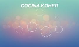 COCINA KOHER