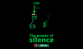 Jameson. The power of silence