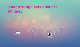 5 Interesting Facts about Eli Whitney