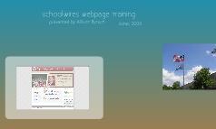 Schoolwires Webpage Training
