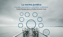 Copy of La norma jurídica