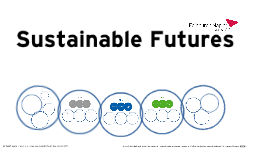 Sustainable Futures - For ICiPS