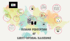 Human Perception of Light-Optical Illusions