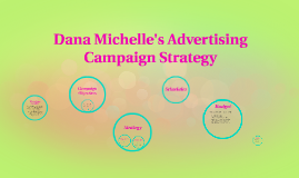 Dana Michelle's Advertising Campaign Strategy