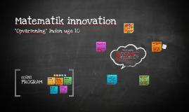 Matematik innovation