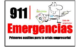 911 Crisis empresarial