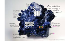 Copy of Mineral Properties