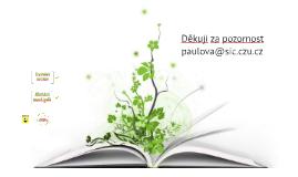 Vyhledávání informací 2016 - ČZU