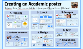 Creating an academic poster