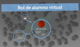 Rol de alumno virtual