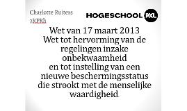 Wet 17 maart 2013