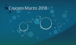 Crucero Marzo 2018
