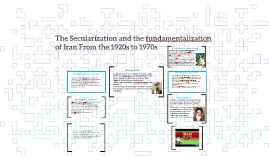 The Secularization and the fundamentalization of Iran