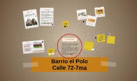 El Polo y la 7ma con 72