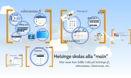 """Helsinge skolas alla """"moln"""""""