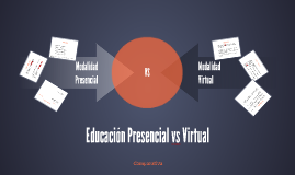 Educación Presencial vs Virtual