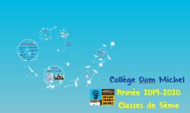 Copy of Réunion classes de 3ème 2016-17
