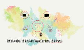 Reunión departamental servh