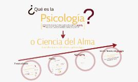 ¿Qué es la Psicología? Acerca del Estatuto Epistemológico de la Psicología