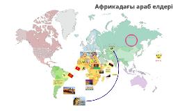 Copy of Африкадағы араб елдері