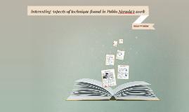 Pablo Neruda's Techniques in his Poetry