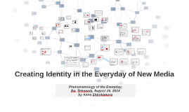 Creating Identity in the Everyday of New Media