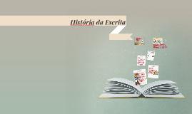 Copy of História da escrita