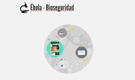 Ébola - Medidas de seguridad