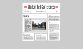 Copy of Student Led Confrences