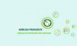 ANALISIS DE PROPUESTA