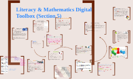 Literacy & Mathematics Digital Toolbox (Section 5)