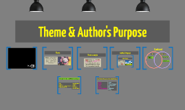 Author's Purpose and Theme