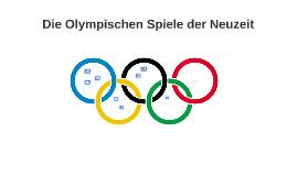 Olympische Spiele der Neuzeit