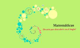 Matemáticas: Un arte por descubrir!