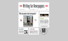 Writing for Newspapers