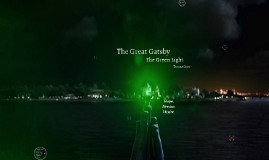 great gatsby the green light The great gatsby: motif tracking - light  summary of motif: the motif of lights occurs numerous times in the great gatsby, with the most major appearance being of the green light that gatsby attempts to reach out to, with the green light representing daisy.