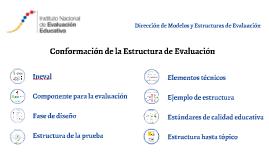 Copy of Dirección de Modelos y Estructuras de Evaluación