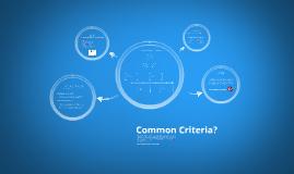 CCUF - Common Criteria
