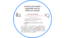 Income and wealth inequality and its effect on society