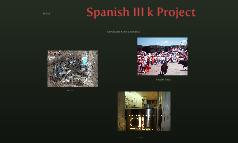 Spanish III k Project