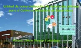 Unidad de comercialización de materiales pétreos para el Gob