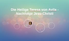 Die Heilige Teresa von Avila