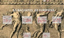 As Bacantes, de Eurípides: catarse entre logos e o pathos