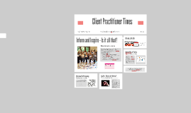 Copy of Client Practitioner Times