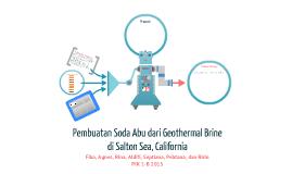 Pembuatan Soda Abu dari Geothermal Brine