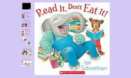 K-Read It, Don't Eat It