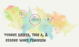 Yvonne Rainer, Trio A, and Second Wave feminism