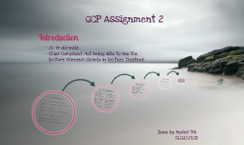 Copy of General Clinical Practice 1 Assignment 2