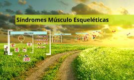 Síndromes músculo esqueléticas - MGA II